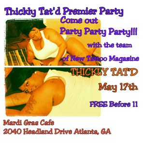 Thickly Tat'd Premiere Party.....