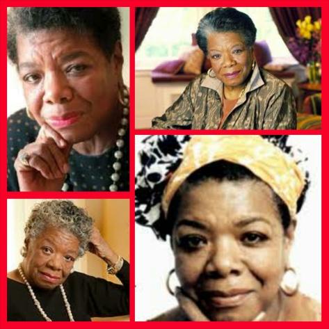 Maya Angelou, RIP April 4, 1928 - May 28, 2014